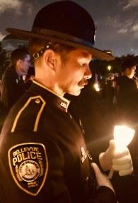 Honor Guard at Vigil