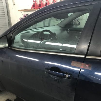 Recovered carjacked automobile