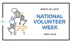 Volunteer week logo