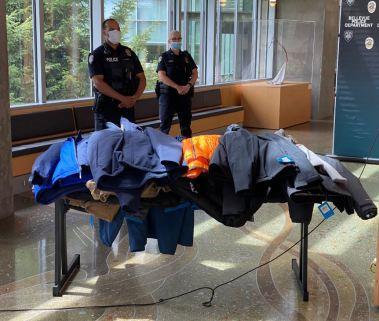 Suspected stolen merchandise