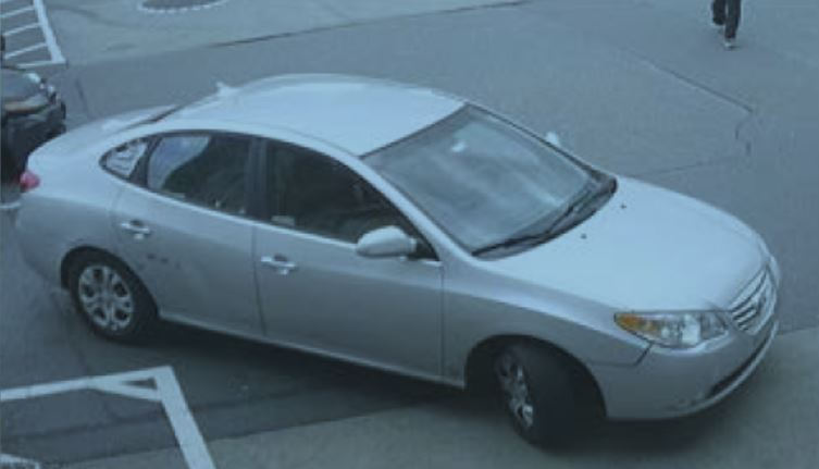 Suspect car damage Marci Jewelery and Bartell